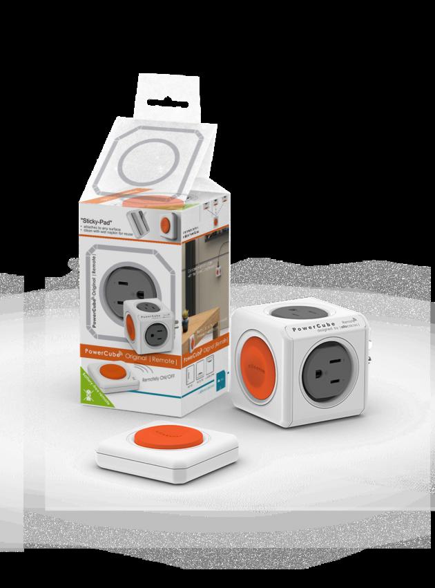PowerCube 魔術方塊遙控擴充插座 1