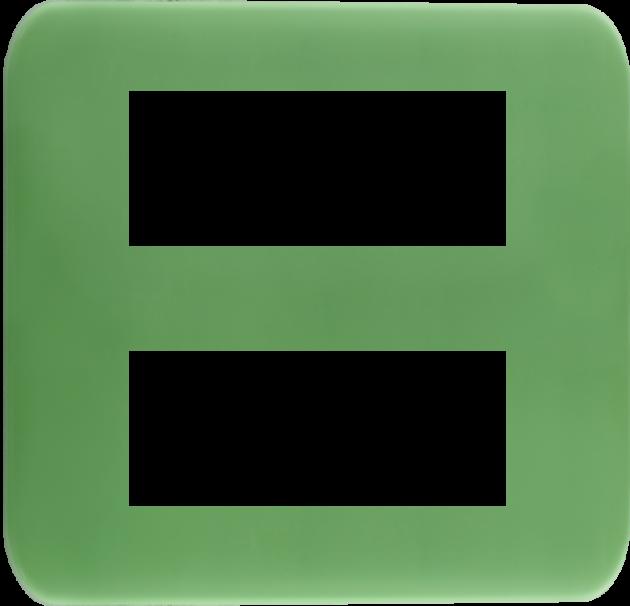時尚馬卡龍系列青蘋綠/六孔蓋板組 1