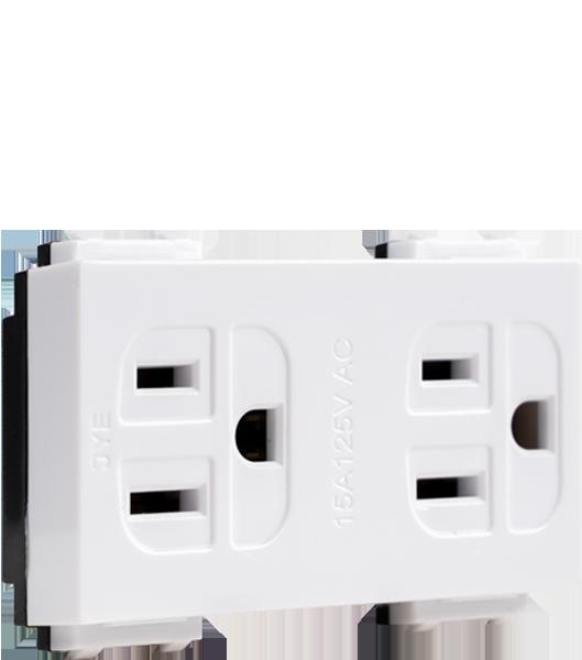ECO基本款/接地雙插座 1