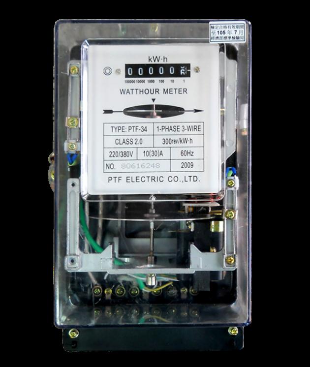 電表/機械式電表PTF-34 1